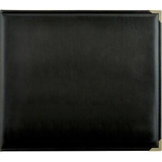 "Kaisercraft Leather D-Ring Album 12""X12""-Black"