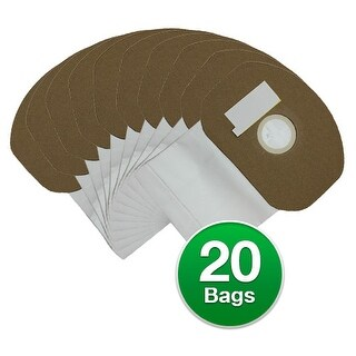 Replacement Vacuum Bag For Sanitaire SC412A BackPack Vacuums - 2 Pack