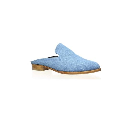 Robert Clergerie Womens Alicet Blue Mules EUR 36