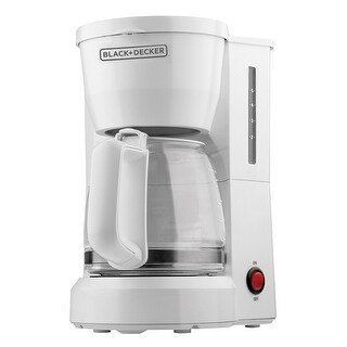Black & Decker DCM600W 5 Cup Coffeematic Coffeemaker, 5 Cup