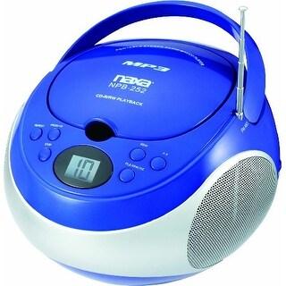 Naxa NAXNPB252BLB Portable Cd/mp3 Player With Am/fm Stereo