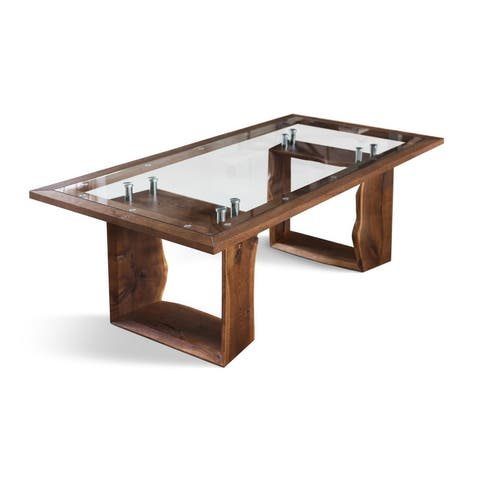 ROZG-XO Solid Wood Dining Table - Walnut
