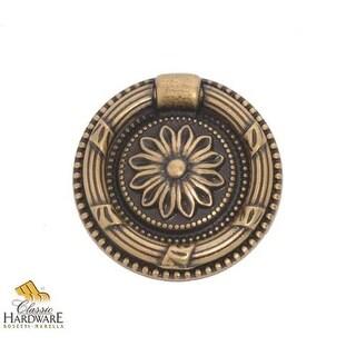 Bosetti Marella 100205 Louis XVI 1-7/8 Inch Diameter Ring Cabinet Pull