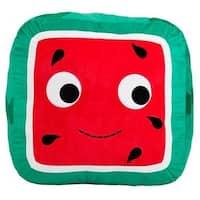 "Yummy World 18"" Bonnie Square Watermelon XL Plush - multi"