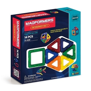 Magformers Designer 14-Piece Building Set - Multi