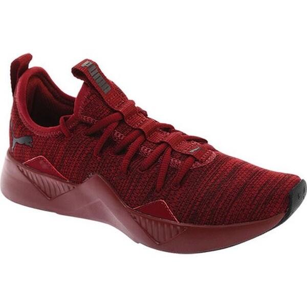 Shop PUMA Women s Incite Modern Sneaker Pomegranate PUMA Black ... df89c978b