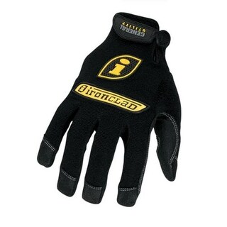 Ironclad GUG-05-XL General Utility Glove, Black