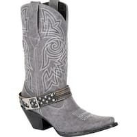 #DRD0329, Crush by Durango Women's Graphite Flag Accessory Western Boot