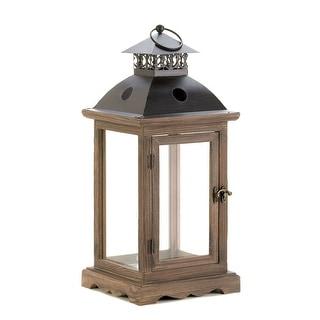 Large Monticello Wood Lantern