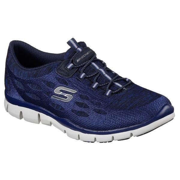 Skechers 22757 NVY Women's GRATIS - BLISSFULLY Sneakers