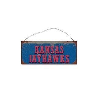 University of Kansas Jayhawks Small Tin Sign