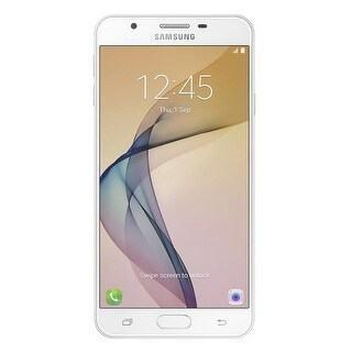 Samsung Galaxy J7 Prime G610M Unlocked GSM Phone w/ 13MP Camera - White Gold (Certified Refurbished)