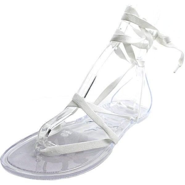 LFL Jinx Open Toe Canvas Gladiator Sandal