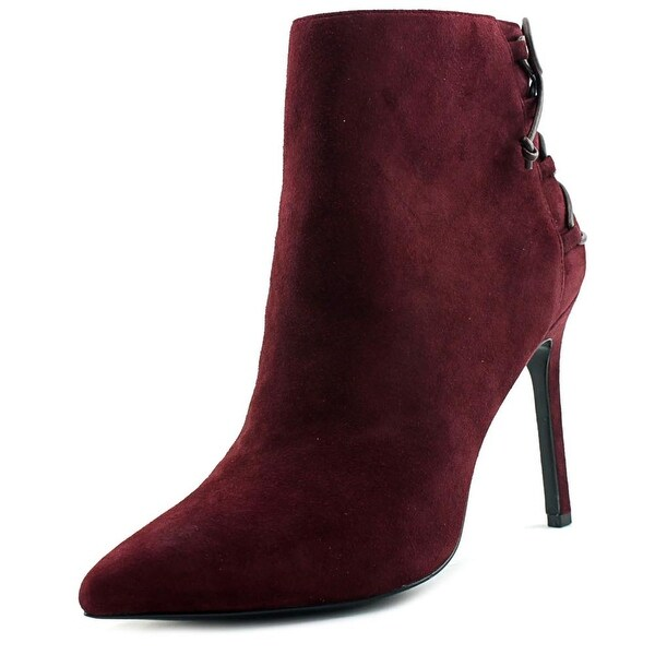 Charles David Catherine Women Round Toe Suede Ankle Boot