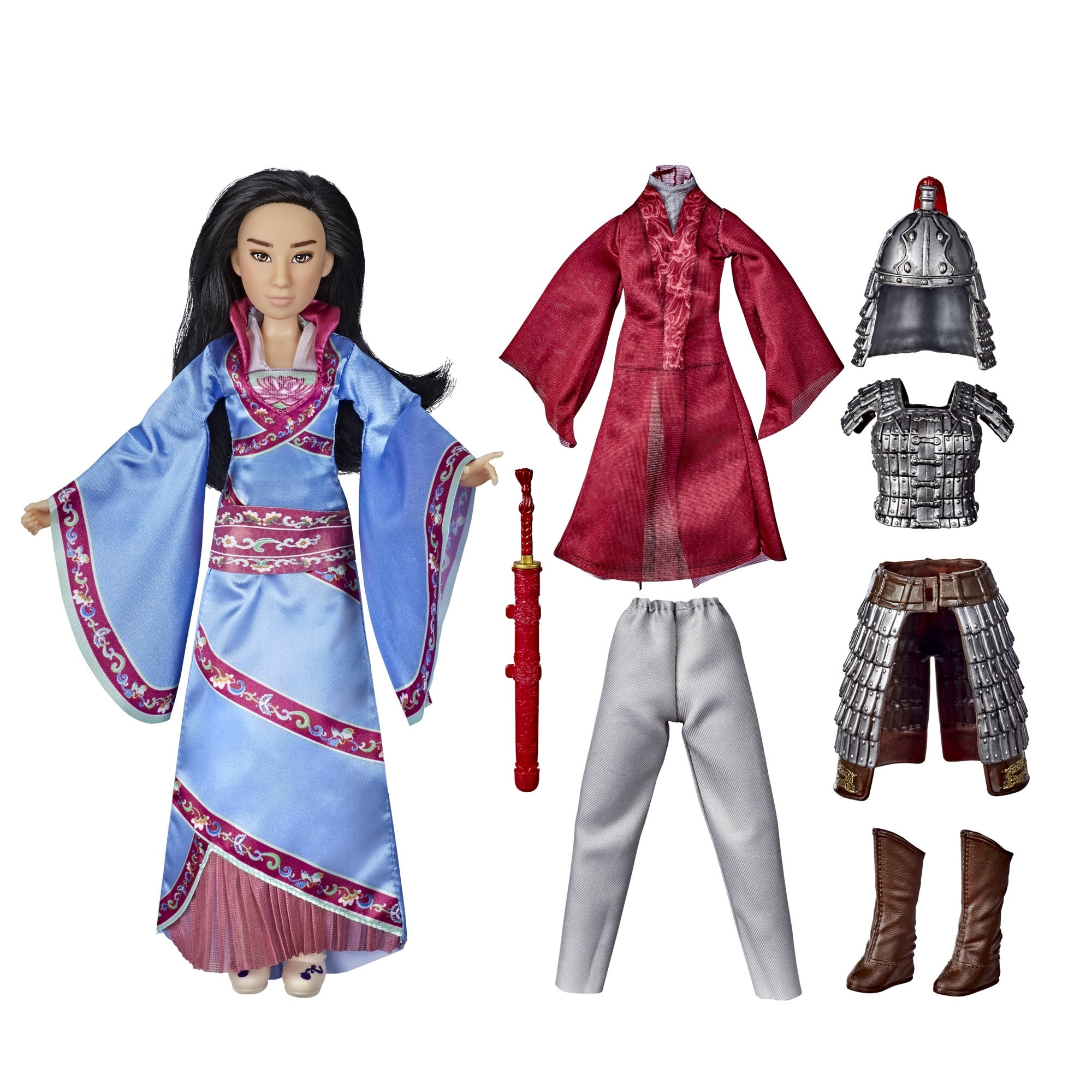 Shop Disney Mulan Two Reflections Set Doll With 2 Outfits And Accessories Inspired By Disney S Mulan Movie Overstock 31669060