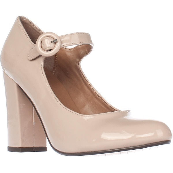 Report Footwear Lecrone Mary Jane Pumps, Nude