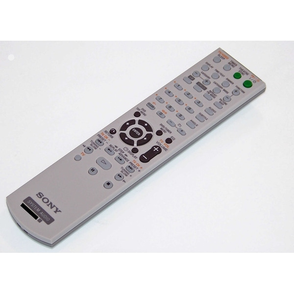 OEM Sony Remote Control Originally Shipped With: CMTDH7BT, CMT-DH7BT, HCDDH7BT, HCD-DH7BT, SSCDH3, SS-CDH3