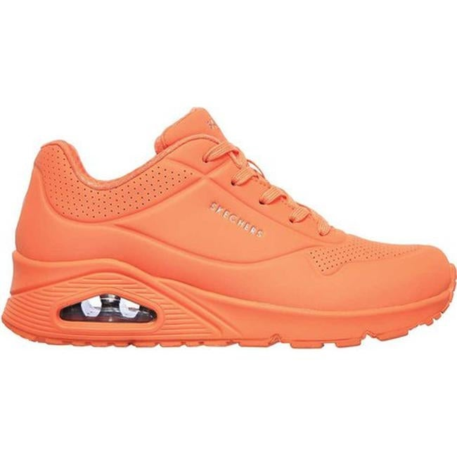 orange skechers