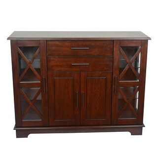 Link to Julianne X-Frame Door Console Cabinet Similar Items in Living Room Furniture
