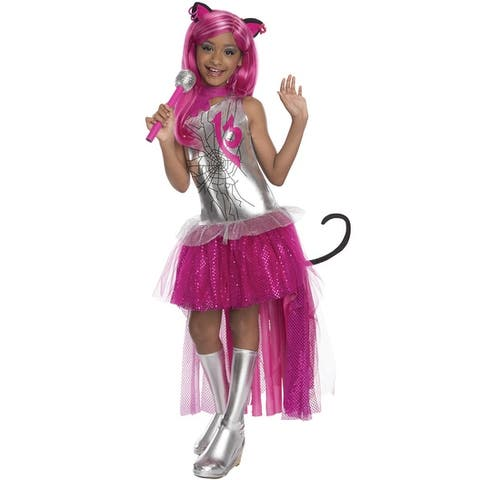 Rubies Catty Noir Child Costume - Silver/Pink