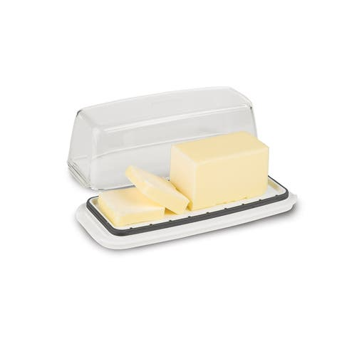 Prepworks from Progressive Butter Keeper, Clear/White/Blue