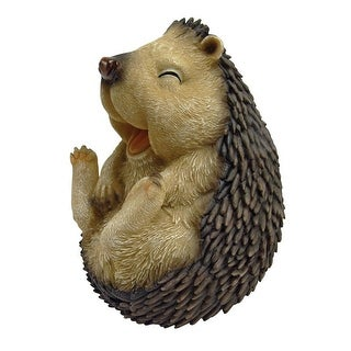Design Toscano Roly-Poly Laughing Hedgehog Statue: Large