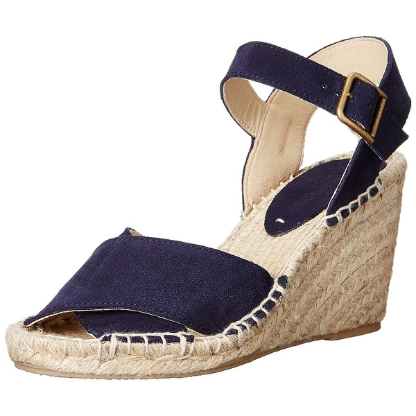 Soludos Women's Criss Cross Espadrille Wedge Sandal - 7