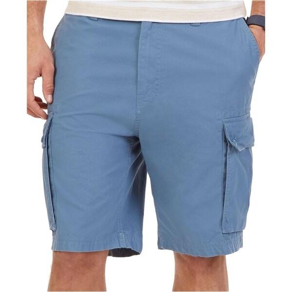 Nautica Mens Cargo Shorts Modern Fit Ripstop
