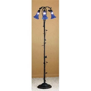 Meyda Tiffany 31333 Floor Lamp from the Lilies Collection