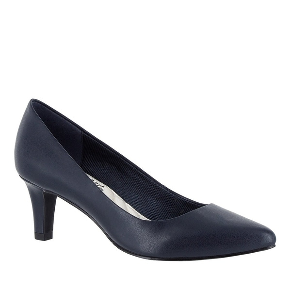 Easy Street Womens Pointe Closed Toe Classic Pumps