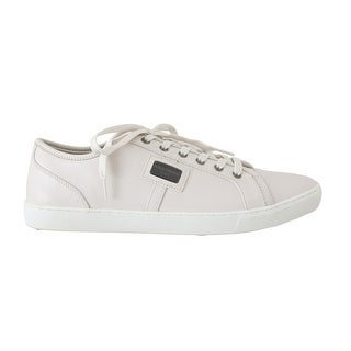 Dolce & Gabbana Dolce & Gabbana White Leather Mens Casual Sneakers