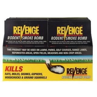 Bonide 61110 Rodent Smoke Bomb, 4/Pack