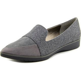 Tahari flight Pointed Toe Suede Loafer