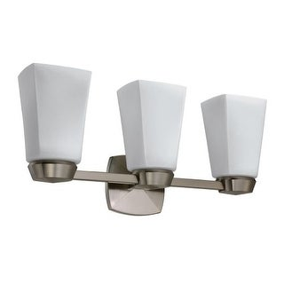 Gatco 1697 Jewel Triple Light Bathroom Wall Sconce