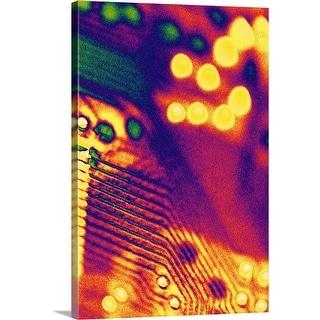 """Circuit board"" Canvas Wall Art"
