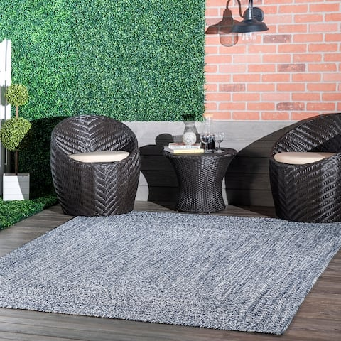 nuLOOM Wynn Braided Indoor/Outdoor Area Rug