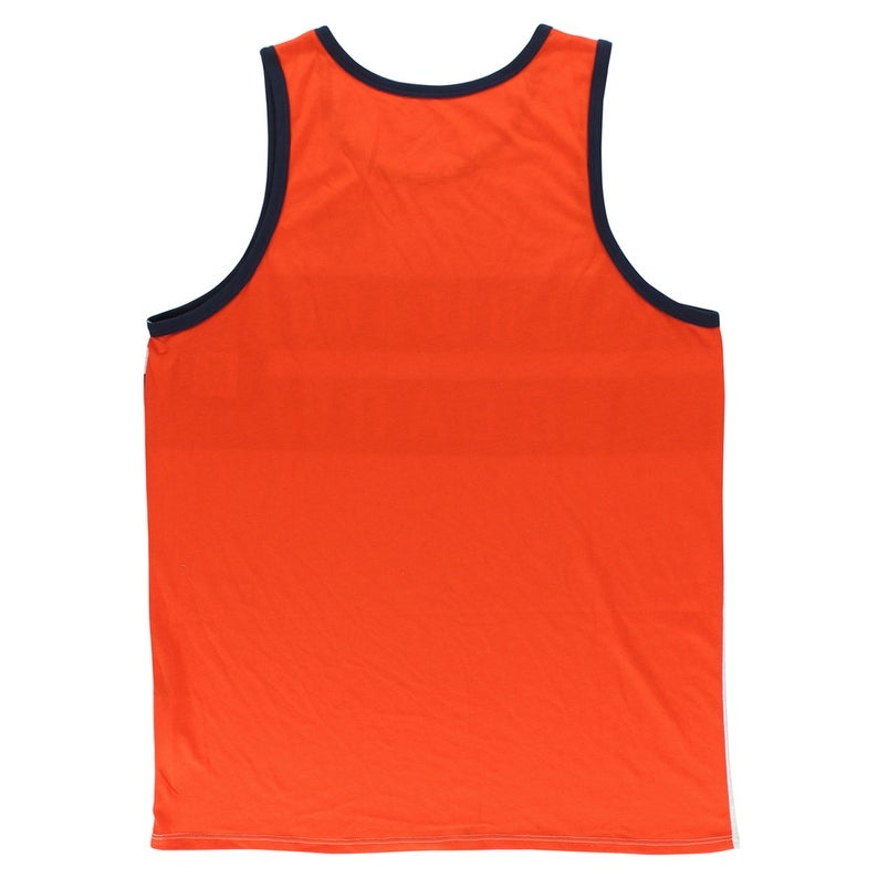 Shop Jordan Mens Chicago Bears Strip Tank Top Grey - grey navy orange -  Free Shipping On Orders Over  45 - Overstock - 22614903 - XXL 2ecde862e