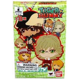 Tiger & Bunny Rubber Collection Keychain Blind Packaging Single Random