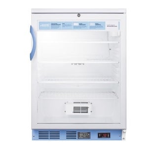 Summit SCR600LBIMED2 Accucold MED2 24 Inch Wide 5.5 Cu. Ft. Built-In Medical Ref