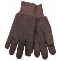 Kinco 820-L Brown Clute Cut Jersey Gloves, Large