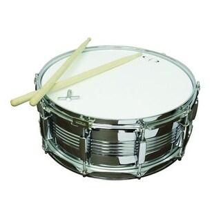 GP Percussion SDC201 10 Lug Chrome Snare Drum