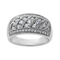 3/4 ct Diamond Ring in 10K White Gold