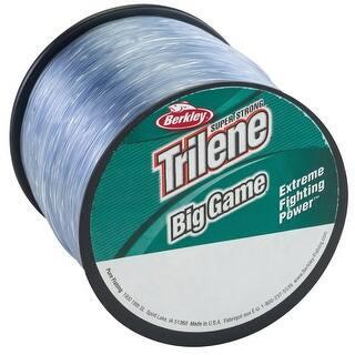Berkley Trilene Big Game Fishing Line (1500 yds) - 10 lb Test - Clear|https://ak1.ostkcdn.com/images/products/is/images/direct/684fbcbe4a1237506c59c1fa834f816741dd6e40/Berkley-Trilene-Big-Game-Fishing-Line-%281500-yds%29---10-lb-Test---Clear.jpg?impolicy=medium