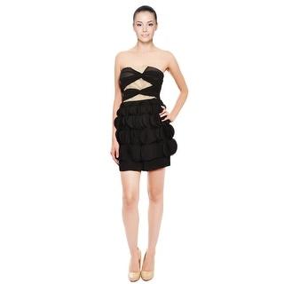 Ali Ro Adorable Chiffon Party Evening Dress - 6
