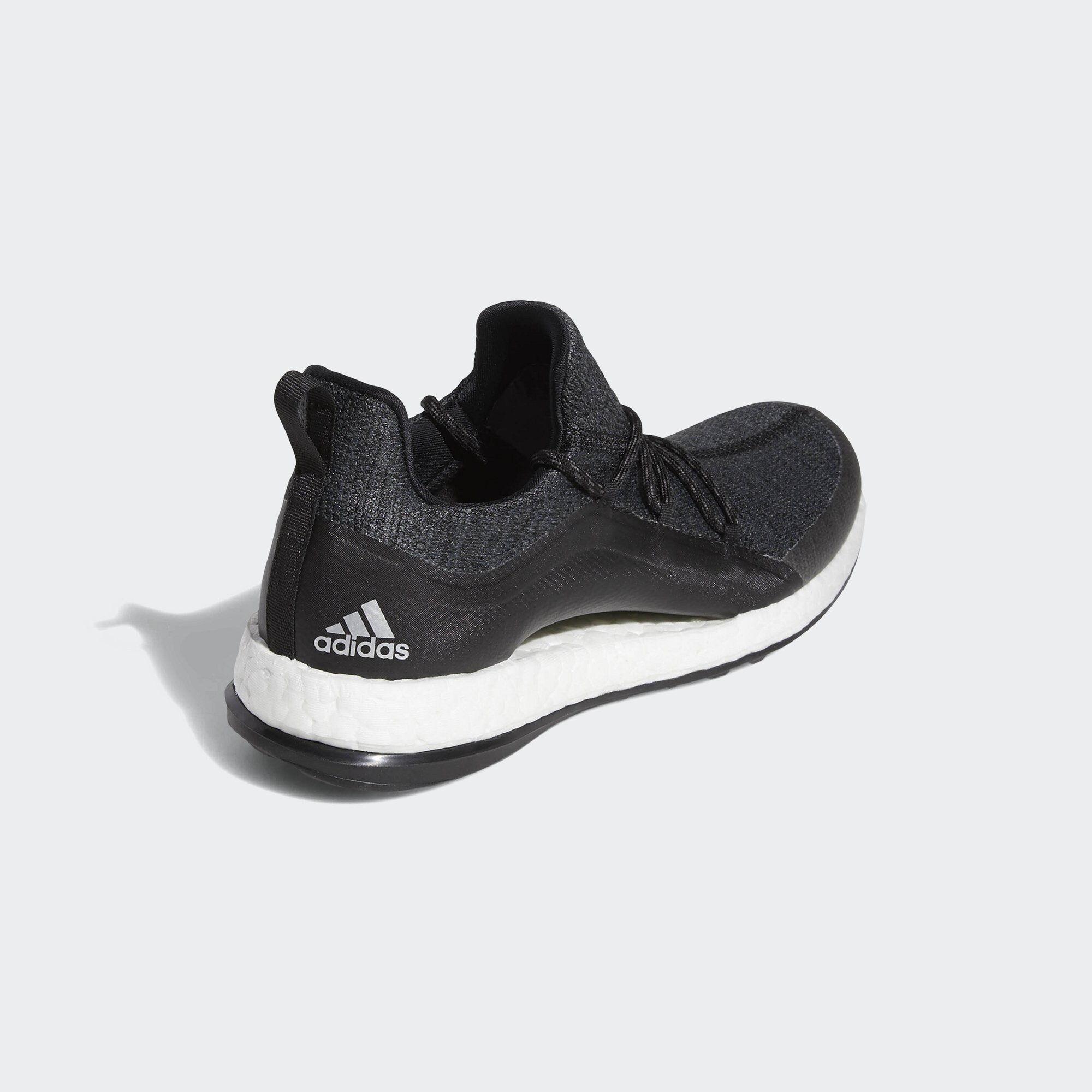 New Adidas Women's Pureboost XG 2 Black/Grey/Silver Met. Golf Shoes BD7195