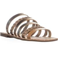 Circus by Sam Edelman Braiden Slide Sandals, Bronze - 7.5 us / 37.5 eu