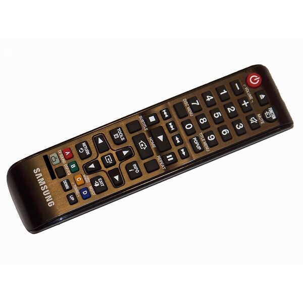 OEM Samsung Remote Control Originally Shipped With: HTJM41, HT-JM41, HTJM41/ZA, HT-JM41/ZA