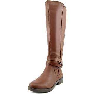 Kenneth Cole Reaction Kent Play   Round Toe Leather  Knee High Boot