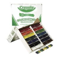 Crayola Waterproof Colored Pencil Classpack, Assorted Colors, Pack of 462