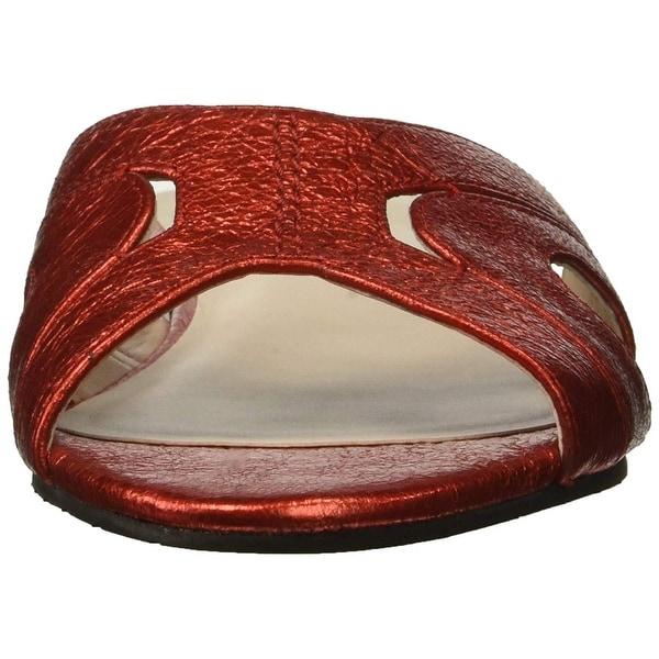 5b38c361ee495 Shop Kenneth Cole New York Women s Vivica Flat Slide Sandal - Free ...
